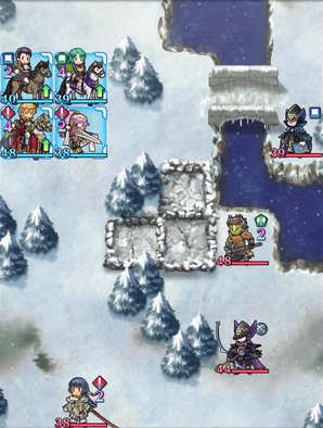 Paralogue 7-2 map