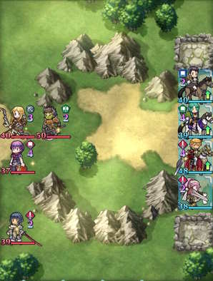 Paralogue 7-3 map
