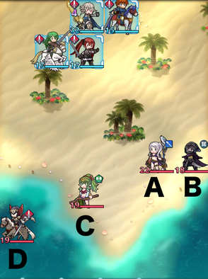 Paralogue 8-1 map