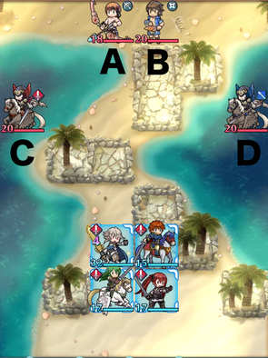 Paralogue 8-2 map