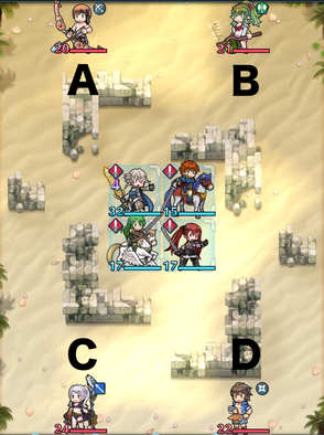 Paralogue 8-3 map