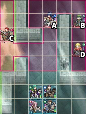Paralogue 10-3 map