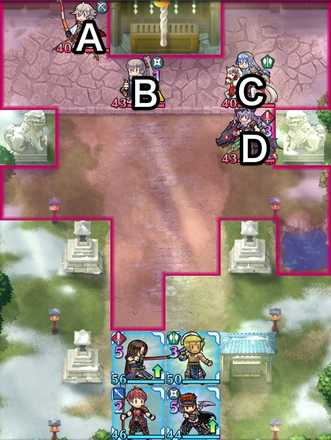 Paralogue 17-3 map
