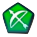 Green Bow Icon