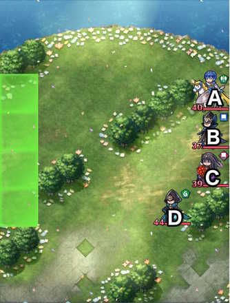 Paralogue 20-1 map