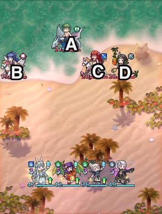Paralogue 21-3 map