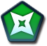 Green Dagger Icon