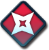 Red Dagger Icon