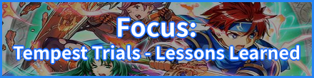 Tempest Trials (Lessons Learned) Banner