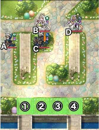 Paralogue 32-1 map
