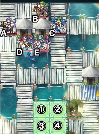 Paralogue 36-3 map