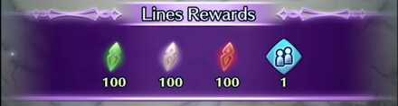 Lore Line Rewards