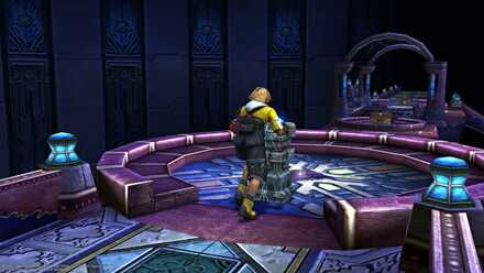 Bevelle Temple Cloister of Trials FFX FF10 Final fantasy 10 Final Fantasy X
