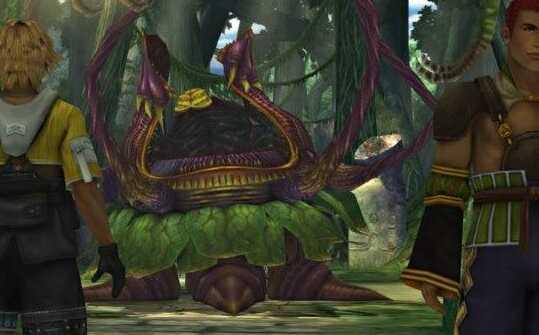 Lord Ochu Kilika Jungle Boss Fight Optional