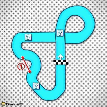 Toad Circuit T Shortcut Map