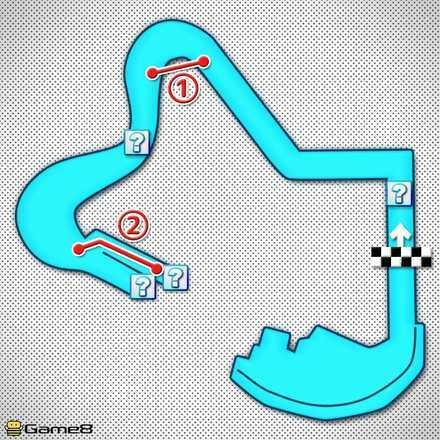 Daisy Hills T Shortcut Map