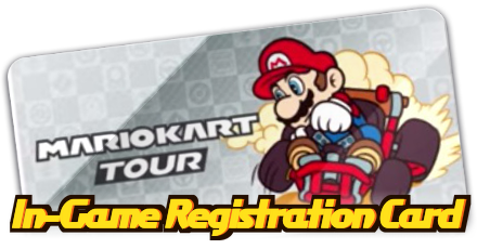 In-Game Registration Card