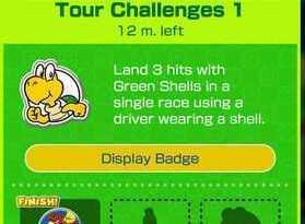 Tour Challenges