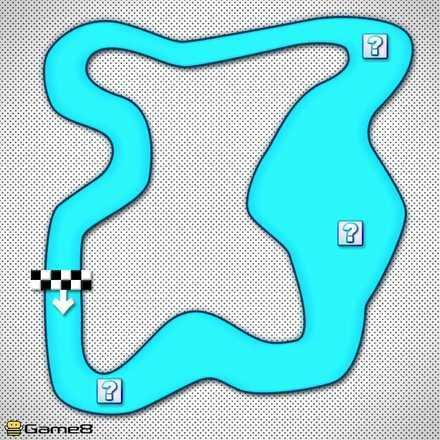 Choco Island 2R Shortcut Map