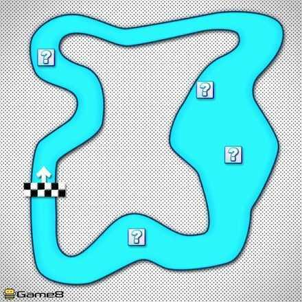 Choco Island 2 Shortcut Map