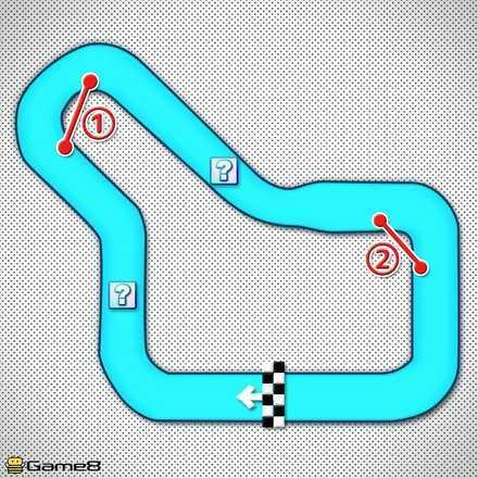 Tokyo Blur T Shortcut Map