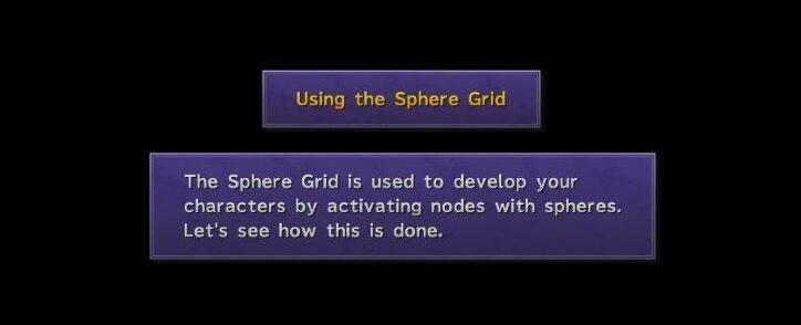 How to use the Sphere Grid What is the Sphere Grid FFX Beginner Tips