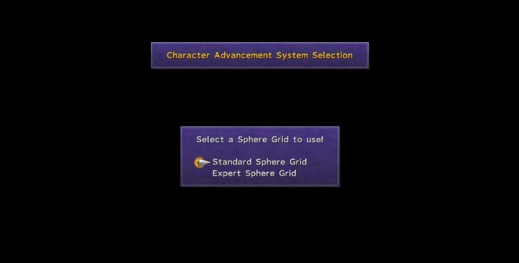 ffx Standard Sphere Grid Expert Sphere Grid