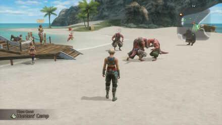 phon coast hunters camp main story walkthrough final fantasy xii ffxii ff12