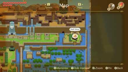 Rapids Ride Rewards And Walkthrough Zelda Link S