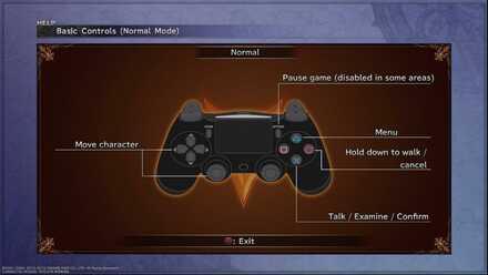FFX Basic Controls
