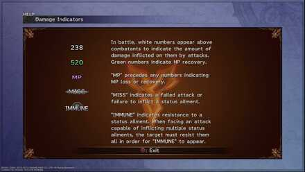 Damage Indicators FFX Beginner Tips and Guides