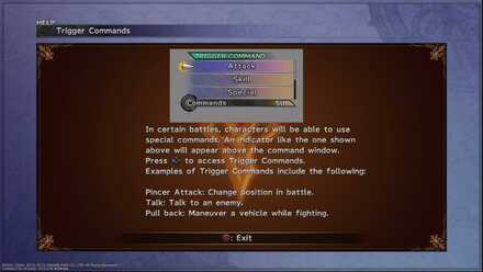 Trigger Commands FFX beginner tips and guides