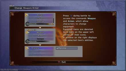 Change Weapon and Armor FFX Beginner tips