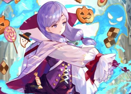 FEH Halloween Ilyana Banner