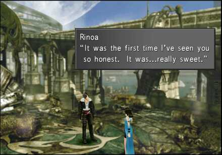 Rinoa & Squall in Fisherman