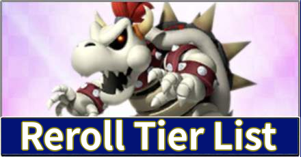 Reroll Tier List Mario Kart Tour Game8