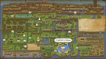 Catfishs Maw Map