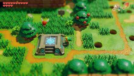 Warp Point Map And Locations Zelda Link S Awakening Game8