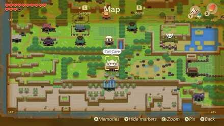 Dungeon Locations Zelda Link S Awakening Game8