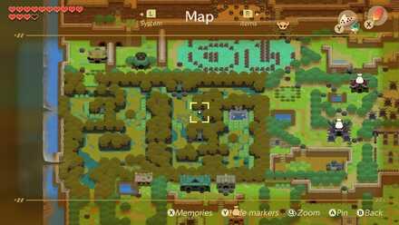 Item Upgrade Locations And Lil Devil Map Zelda Link S
