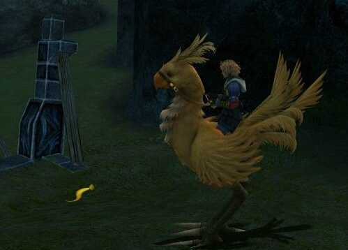 ffx chocobo feather chocobo leap chocobo power watatata