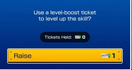 Level Boost Ticket