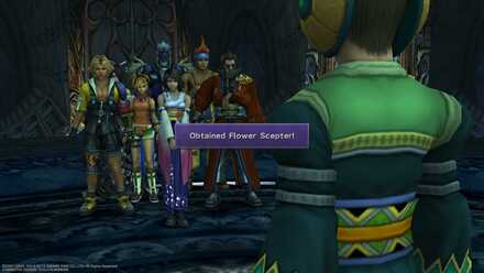 Flower Sceptre