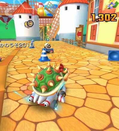 How To Take Out 5 Traffic Cones Mario Kart Tour Game8