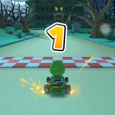 Baby Luigi Cup Time Trial