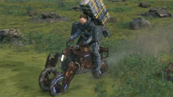 Death Stranding Rusted Motor Bike