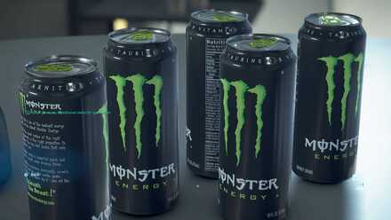 Death Stranding Monster Energy Drink