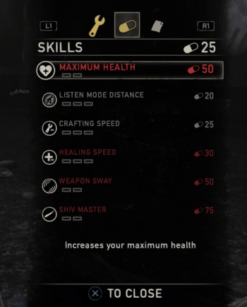 The Last of Us - Character Skills.png