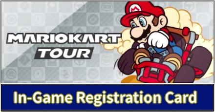 In-Game Registration Card