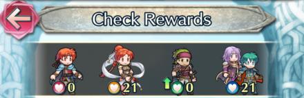 Forging Bonds Rewards